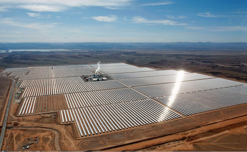 meet NOOR, the largest concentrating solar power plant on Earth