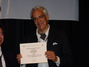 2010 Distinguished Service Award from the IEEE Robotics and Automation Society