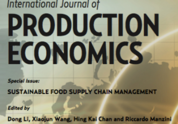 2014, Special issue on Food Supply Chain
