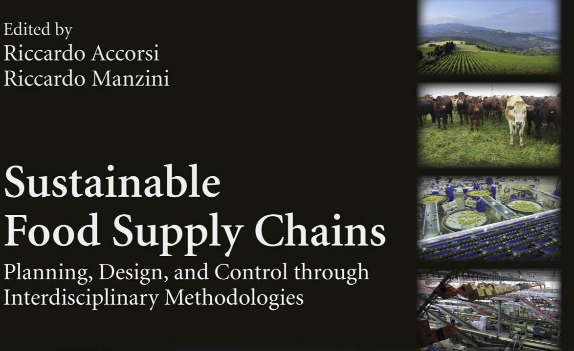"A new book on ""Sustainable Food Supply Chain"""