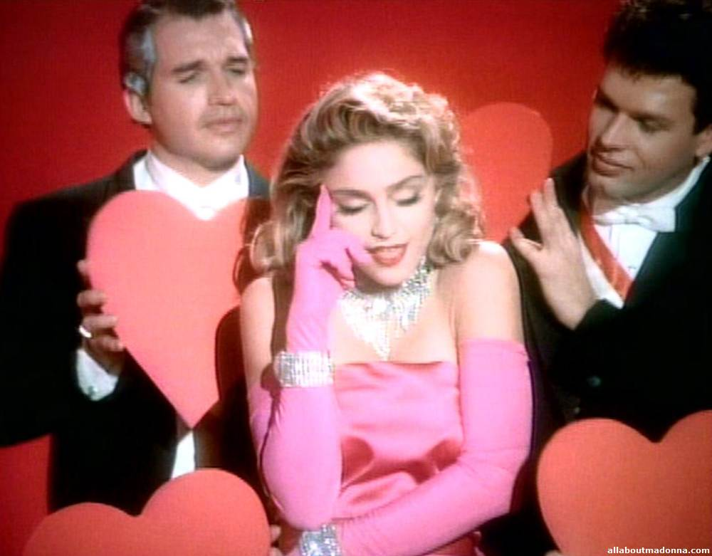 Madonna in Material Girl Video