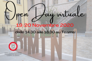Open day virtuale del Campus di Rimini - 19 e 20 novembre 2020