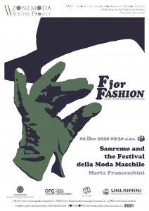 Sanremo and the Festival della Moda Maschile