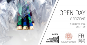 OPEN DAY | Master di primo livello in Design and Techology for Fashion Communication