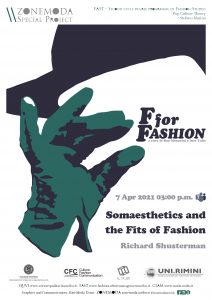 Somaesthetics and the Fits of Fashion Richard Shusterman