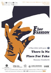 F for Fashion There Is No Place for Fake