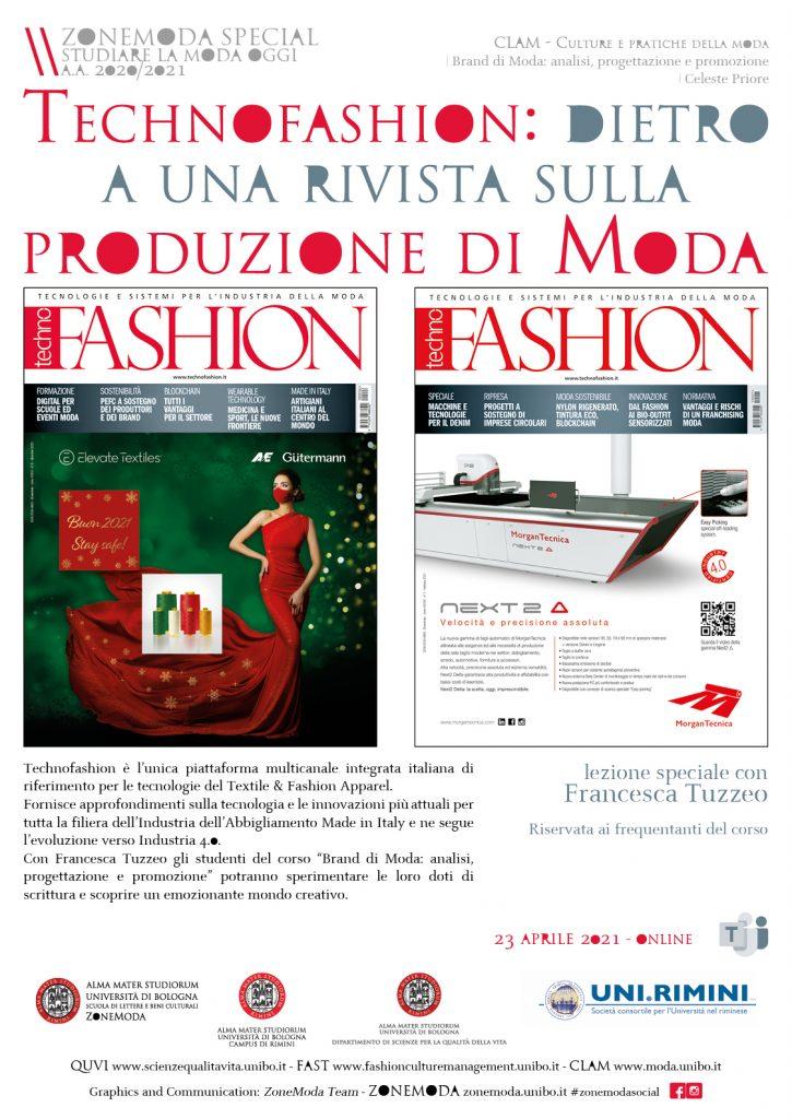 Technofashion: dietro a una rivista sulla produzione di Moda